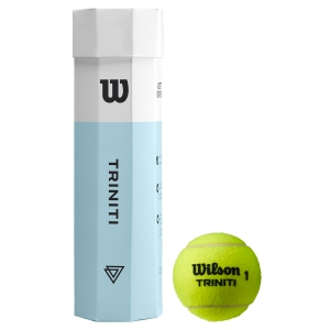 Wilson Tennis Balls Wilson Triniti 4 Ball Can WRT115200