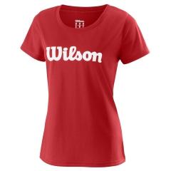 Wilson UWII Script Tech T-Shirt - Red/White