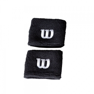 Tennis Head and Wristbands Wilson Wristband  Black WR5602700