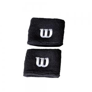 Muñequeras y Bandanes de Tenis Wilson Munequeras  Black WR5602700