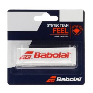Replacement Grip Babolat Syntec Team Grip  White/Red 670065149