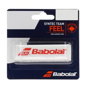 Recambio de Grip Babolat Syntec Team Grip  White/Red 670065149