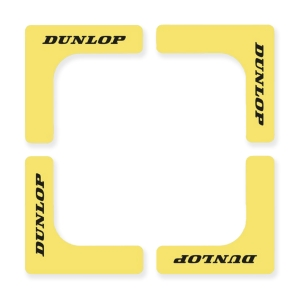 Training Accessories Dunlop Court Edges  Yellow 622222
