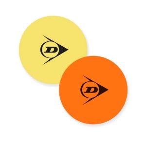 Tennis Training Accessories Dunlop Court Target  Yellow/Orange 622221