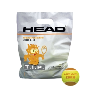 Head Tennis Balls Head T.I.P Orange  72 Balls Pack 578270
