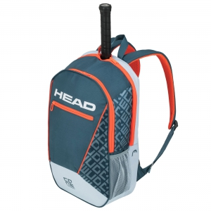 Tennis Bag Head Core Backpack  Grey/Orange 283539 GROR