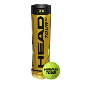 Head Tennis Balls Head Tour XT  4 Ball Can 570824
