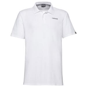 Polo Tenis Hombre Head Club Bjorn Polo  White 811439WH