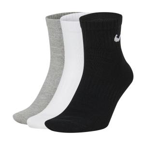 Tennis Socks Nike Everyday Lightweight Ankle x 3 Socks  Multicolor SX7677901