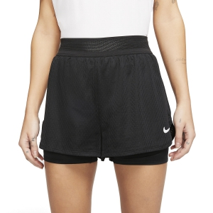 Skirts, Shorts & Skorts Nike Flex 2 in 1 1.5in Shorts  Black/White CI9378010