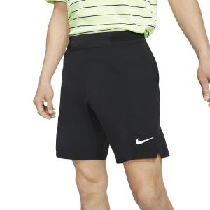 Men's Tennis Shorts Nike Flex Ace 9in Shorts  Black/White CI9162010