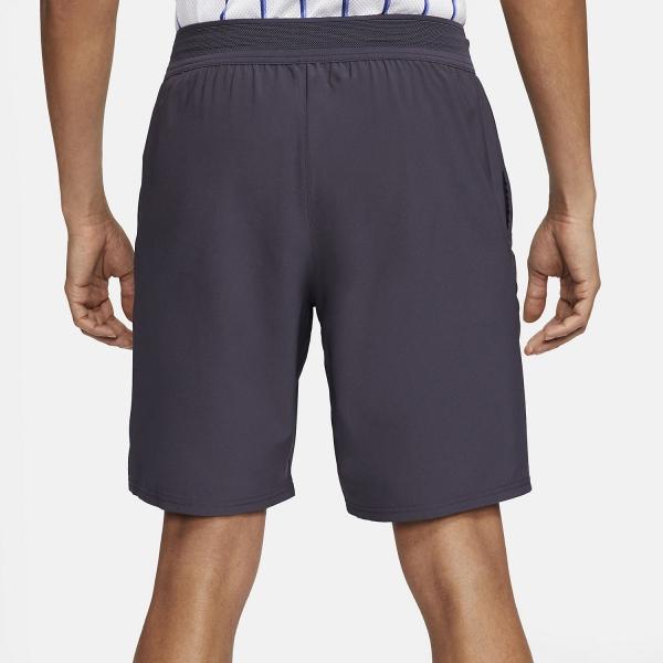 Nike Flex Ace 9in Shorts - Gridiron/White