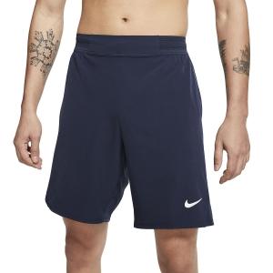 Men's Tennis Shorts Nike Flex Ace 9in Shorts  Obsidian/White CI9162451