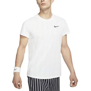 Men's Tennis Shirts Nike Court Challenger TShirt  White/Black CI9146100