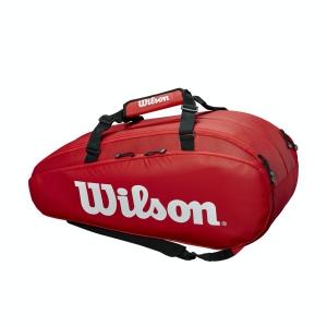 Bolsa Tenis Wilson Tour 2 Comp Large x 9 Bolsas  Red WRZ848909