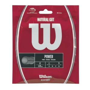 Natural Gut String Wilson Natural Gut 1.25et 12 m  Natural WRZ999900