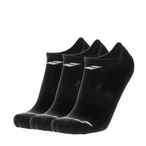 Tennis Socks Babolat Invisible x 3 Socks Junior  Black 5JA14612000