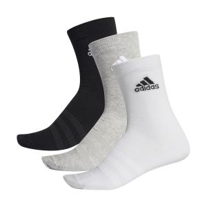 Tennis Socks Adidas Lightweight Crew x 3 Socks  Multicolor DZ9392