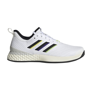 Men`s Tennis Shoes Adidas Adizero Ubersonic 3 LTD  White/Core Black/Cream White EF1429