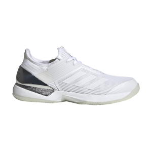 Calzado Tenis Mujer Adidas Adizero Ubersonic 3  Ftwr White/Matte Silver EF2463