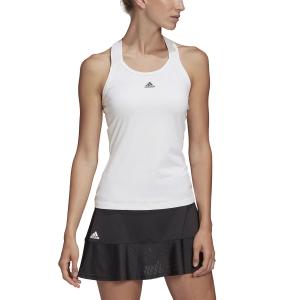 Women`s Tennis Tanks Adidas Gameset Y Tank  White FK0553