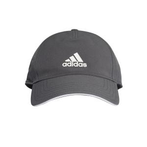Tennis Hats and Visors Adidas Aeroready Cap  Grey Six/White FK0879