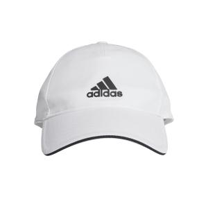 Tennis Hats and Visors Adidas Aeroready Cap  White/Black FK0878