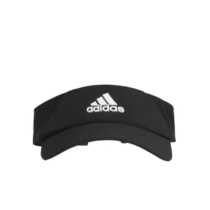 Tennis Hats and Visors Adidas AEROREADY Visor  Black/White FK0860
