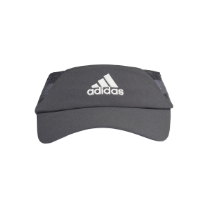 Tennis Hats and Visors Adidas Aeroready Visor  Grey Six/White FK0862