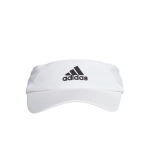 Tennis Hats and Visors Adidas AEROREADY Visor  White/Black FK0859