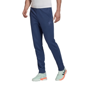 Men's Tennis Pants and Tights Adidas Category Graphic Pants  Tech Indigo FM1187