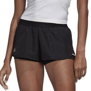 Skirts, Shorts & Skorts Adidas Club 2in Shorts  Black/Matte Silver/White FK6999