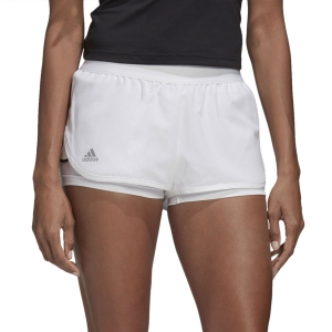 Skirts, Shorts & Skorts Adidas Club 2in Shorts  White/Matte Silver/Black FK6998