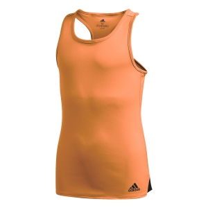 Top y Camisetas Niña Adidas Club Top Nina  Amber Tint/Grey Six FQ3617