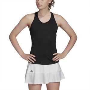 Top de Tenis Mujer Adidas Club Top  Black/Matte Silver/White FK6981
