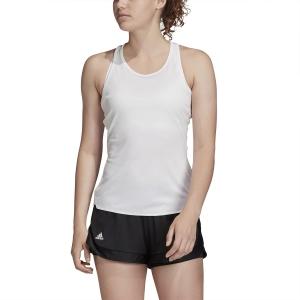 Top de Tenis Mujer Adidas Club Top  White/Matte Silver/Black FK6980