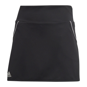 Shorts and Skirts Girl Adidas Club Skirt Girl  Black/Matte Silver/White FK7146