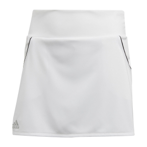 Shorts and Skirts Girl Adidas Club Skirt Girl  White/Matte Silver/Black FK7145
