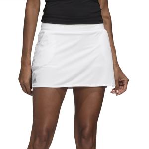 Faldas y Shorts Adidas Club Falda  White/Matte Silver/Black FK6990