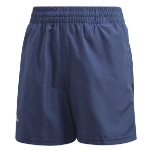 Tennis Shorts and Pants for Boys Adidas Club 5in Shorts Boy  Tech Indigo/White FS9281