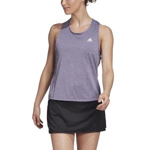 Top de Tenis Mujer Adidas Club Tieback Top  Tech Purple/Matte Silver FM0180