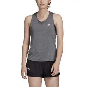 Top de Tenis Mujer Adidas Club Tieback Top  Dark Grey Heather/Matte Silver FK6976