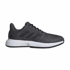 Adidas CourtJam Bounce Clay - Grey Six/Core Black/Ftwr White