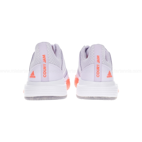 Adidas CourtJam Bounce - Signal Coral/Purple Tint/Tech Purple