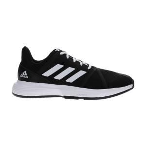 Men`s Tennis Shoes Adidas CourtJam Bounce  Core Black/Ftwr White/Matte Silver EG1136