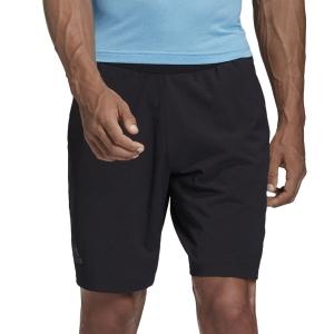 Pantalones Cortos Tenis Hombre Adidas Ergo Solid 7.5in Shorts  Black FK0794