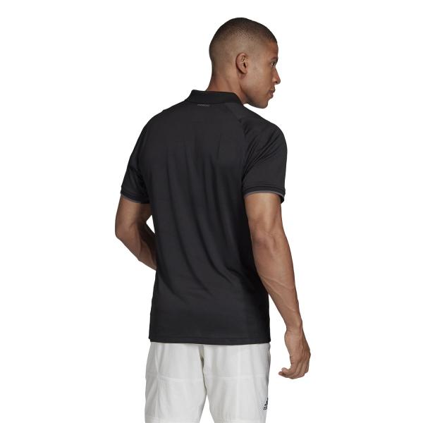 Adidas Gameset Freelift Polo - Black