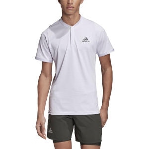 Men's Tennis Polo Adidas Freelift Polo  Purple Tint/Legend Earth FK0804