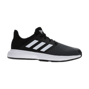 Men`s Tennis Shoes Adidas GameCourt  Core Black/Ftwr White/Grey Six EG2009