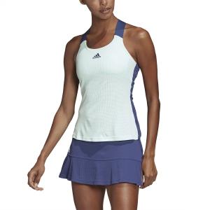 Top de Tenis Mujer Adidas Gameset Top  Dash Green/Tech Indigo FK0762